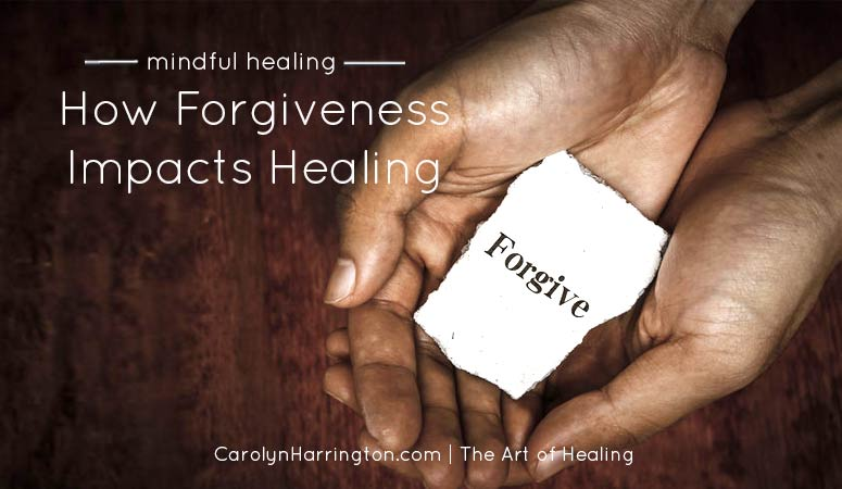 How Forgiveness Affects Healing