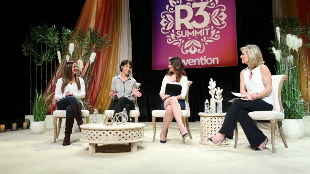 Carolyn at the Prevention Magazine R3 Summit