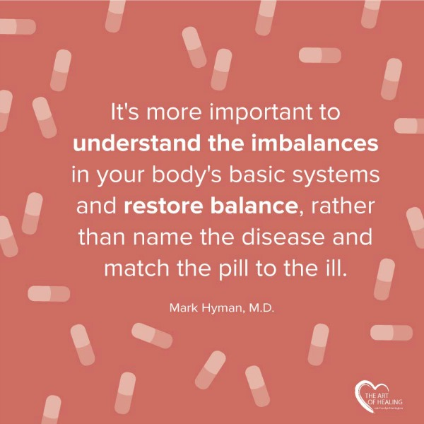 Understand The Imbalances In Your Body Quote