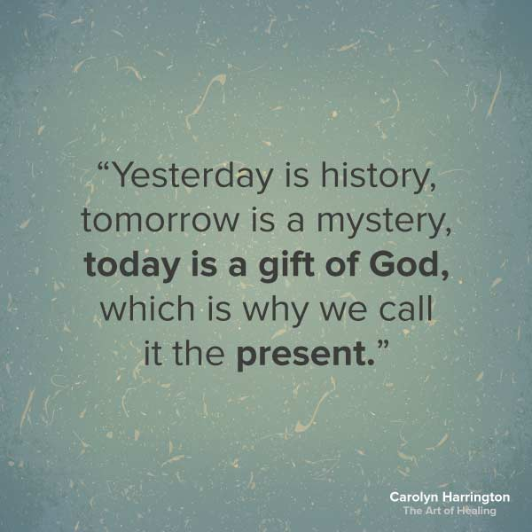 Today is a Gift Of God Quote