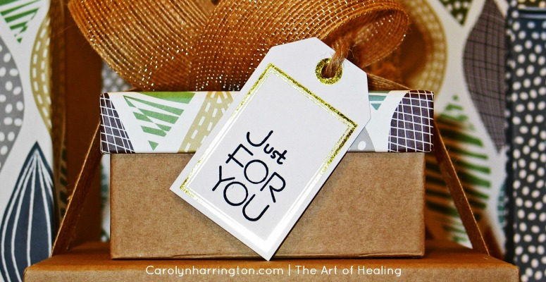 Mother's Day Gift Ideas. Gift Box with Just For You Tag