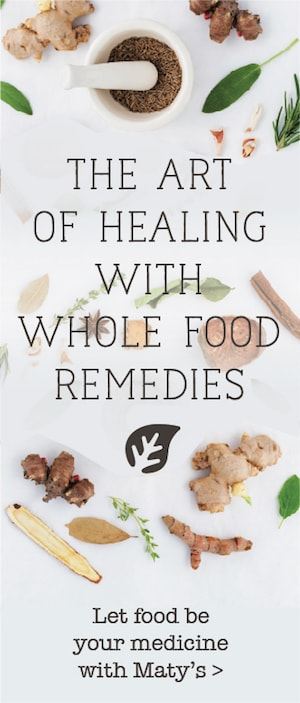 The art of healing with whole food remedies